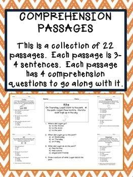 BUNDLE - Reading Comprehension Passages