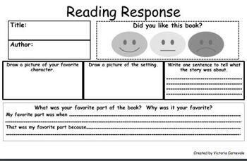 BUNDLE: Reading Response Exit Tickets