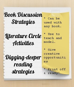 Reading Strategies, Booklet, Rubric & Social Studies Activities to 4 books