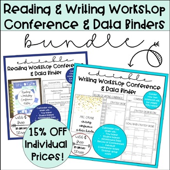 BUNDLE: Reading & Writing Workshop Conference & Data Binders