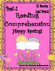BUNDLE! Reading comprehension passages and questions! Math Word Problems! 1 - 2