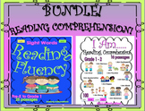 BUNDLE Reading comprehension passages and questions k - 1
