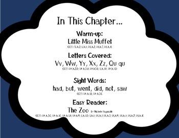 BUNDLE: Reading is Fun: K Foundational Reading Skills Chapter 7 & 8