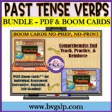 BUNDLE Regular and Irregular Past Tense Verbs with BOOM CA
