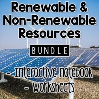 Renewable and Nonrenewable Resources BUNDLE