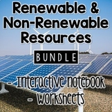 Renewable and Nonrenewable Resources BUNDLE