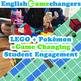 BUNDLE: Research Note Cards with LEGO & Essay Outlines with Pokémon!