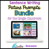 BUNDLE: Respond to a Picture Prompt Sentence Writing for t