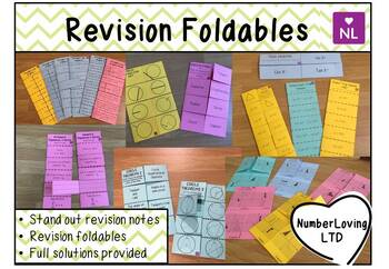 BUNDLE Revision Foldables