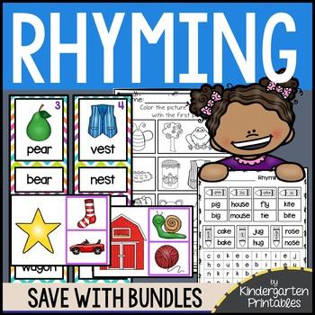BUNDLE: Rhyming Worksheets