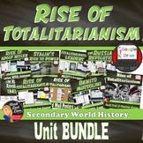 Rise of Totalitarianism   BUNDLE:   World History  Print & Digital   Grades 8-12