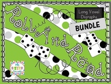 BUNDLE Roll and Read Long Vowel Digraphs (Multisyllabic)