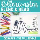 BUNDLE Rollercoaster Blend Reading - Digraphs (sh, ch, th, ck, wh)