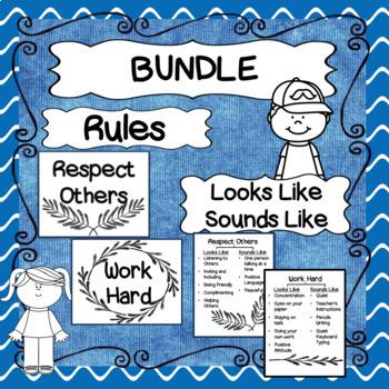 BUNDLE: Rules and Looks Like/Sounds Like