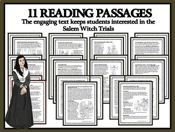 BUNDLE: SALEM WITCH TRIALS