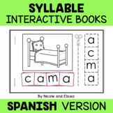 Interactive Spanish Syllables Books