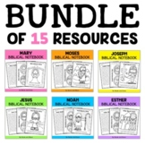 Bible Lessons Notebook Mega Bundle