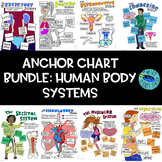 BUNDLE: 11 SCIENCE SCAFFOLDED DOODLE NOTES /ANCHOR CHARTS: