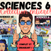 BUNDLE SCIENCES 6 ⇨ 4 UNITÉS AU COMPLET (320+pgs)