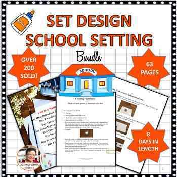 BUNDLE:  SET DESIGN UNIT SCHOOL SETTING & SET PIECE TEMPLATES