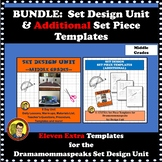 BUNDLE:  SET DESIGN UNIT FAIRY TALE SETTING & SET PIECE TEMPLATES