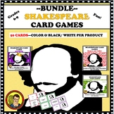 BUNDLE:  SHAKESPEARE CARD GAMES