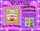 BUNDLE SIGHT WORDS INTERACTIVE NOTEBOOK and 50 NO PREP PRI