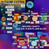 BUNDLE: SOLAR SYSTEM AND INDIVIDUAL PLANET, SUN, AND PLUTO