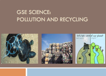BUNDLE SPECIAL 3rd Grade Science ALL GSE Units Google Classroom IWB