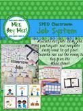 BUNDLE: SPED classroom Job System