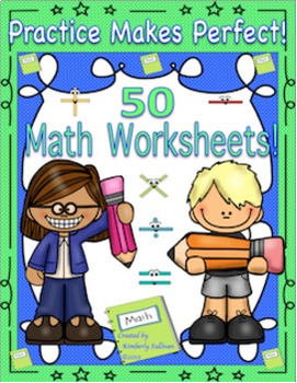 BUNDLE SPRING MATH and GRAMMAR  Grades 3 - 5