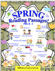 BUNDLE SPRING and SUMMER READING COMPREHENSION PRINTABLES  K - 2