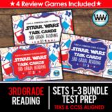 SETS 1-3 BUNDLE - STAAR READY 3rd Grade Reading Task Cards {TEKS-aligned}