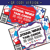 BUNDLE - STAAR WARS 3rd Grade Reading Task Cards ~ SETS 1-6 ~ QR Code Version