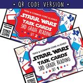 BUNDLE - STAR READY 3rd Grade Reading Task Cards ~ SETS 1-6 ~ QR Code Version