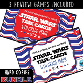 BUNDLE - STAR READY 4th Grade Math Task Cards ~ SETS 1-6 ~