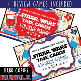BUNDLE - STAR READY 4th Grade Reading Task Cards ~ SETS 1-