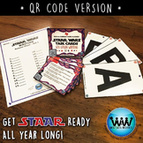 SETS 1-3 BUNDLE - STAR READY 4th Grade Writing Task Cards ~ QR Code Version