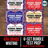 SETS 1-6 BUNDLE - STAR READY 4th Grade Writing Task Cards - STAAR / TEKS-aligned