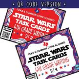 SETS 1-6 QR BUNDLE - STAR READY 4th Grade Writing Task Cards - STAAR / TEKS