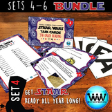 SETS 4-6 BUNDLE - STAR READY 5th Grade Reading Task Cards - STAAR / TEKS-aligned