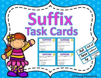 SUFFIX TASK CARDS-SUFFIX POPCORN GAME-GRAMMAR-BUNDLE