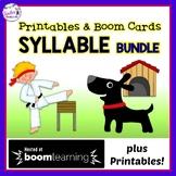 BOOM CARDS Digital PHONICS, SYLLABLE TYPES & PRINTABLES