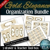 BUNDLE Savings!-- Toolbox + 3-drawer Organization Labels -