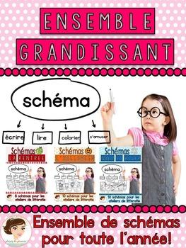 Labeling worksheets - Schémas - Bundle