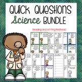 BUNDLE - Science Quick Questions