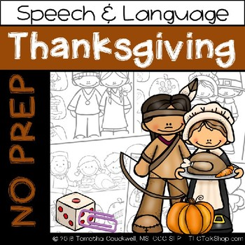BUNDLE: Seasons & Holidays - No Prep for Speech Therapy