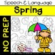 BUNDLE: Seasons & Holidays - No Prep for Speech Therapy