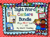 Sight Word Centers BUNDLE! {Fry's List 1 -100}