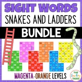 New Zealand Sight Words Snakes and Ladders Magenta to Oran